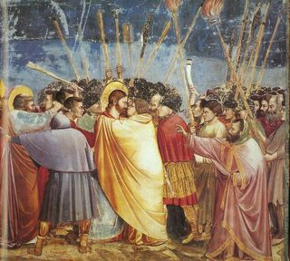 Giotto_-_Scrovegni_-_-31-_-_Kiss_of_Judas